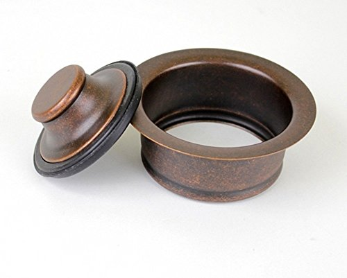 3.5″ Garbage Disposal Flange and Stopper Kit Drain for Copper Kitchen Sink