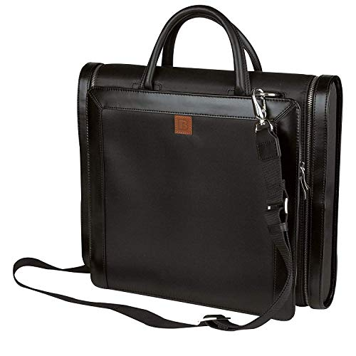 Compu Pack Bag - Impecgear Laptop Briefcase & Portfolio Business Messenger Bag (PFC1159 Manhattan Compu-Briefcase Portfolio Black (1))