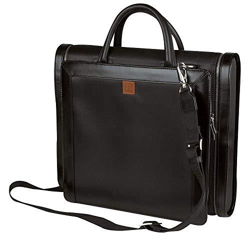 Impecgear Laptop Briefcase & Portfolio Business Messenger Bag (PFC1159 Manhattan Compu-Briefcase Portfolio Black (1)) (Best Big 4 Accounting Firm)