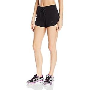 ASICS Women's Knit Shorts, Performance Black, X-Small