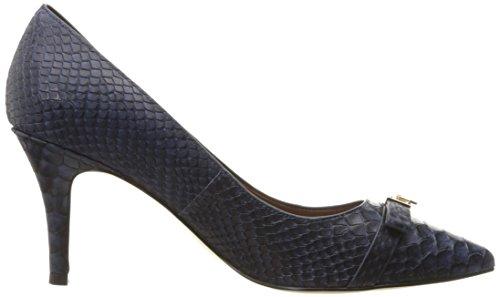 Cole Haan Women's Juliana Detail Dress Pump, Marine Blue Snake Print, 8.5 B US Photo #6