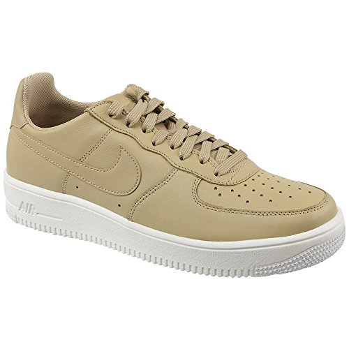 Nike Mens Air Force 1 Scarpa Da Basket In Pelle Ultraforce Beige