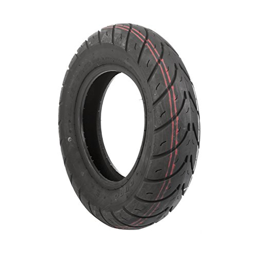 Duro HF290 Scooter Tire - Front/Rear - 130/90-10 , Position: Front/Rear, Tire Size: 130/90-10, Tire Type: Scooter/Moped, Rim Size: 10, Tire Ply: 4, Load Rating: 61, Speed Rating: J 25-29010-130 by Duro (Image #1)