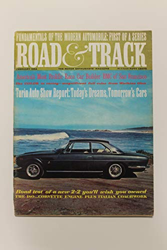 Road & Track, The Motor Enthusiasts' Magazine - February 1964 (Jensen Healey Gt)