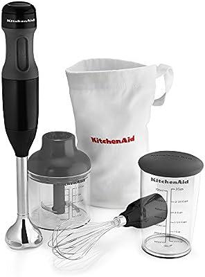 KitchenAid KHB2351OB 3-Speed Hand Blender - Onyx Black