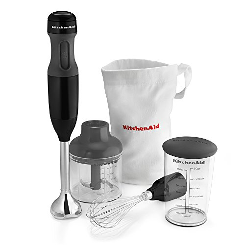 KitchenAid KHB2351OB 3-Speed Hand Blender - Onyx Black by KitchenAid