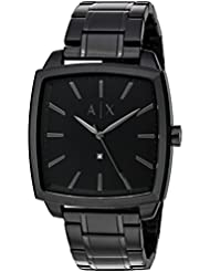 Armani Exchange Mens AX2361 Black IP Watch