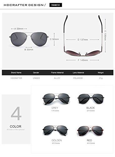 para Espejo de de Eye de Ruiyue Vintage sol hombre Gafas Cat Moda Large Unisex adultos Gafas para Mujer sol Gafas gafas Black sol de Sun conducción UV400 Gafas Polaroid HqqCtgw