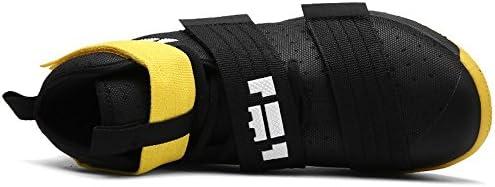 男女兼用 軽量 通気 バスケットシューズ バッシュ ハイカットスニーカー スポーツ ランニングシューズ ヒップホップ ストリート系