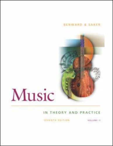 Read Online Music in Theory and Practice: With Anthology CD V. 2 pdf epub