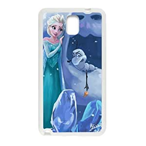 Frozen Princess Elsa and Olaf Cell Phone Case for Samsung Galaxy Note3
