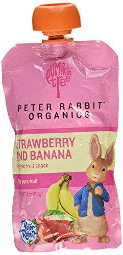 Peter Rabbit Organics Baby Strawberry Banana, 4 oz by Peter Rabbit