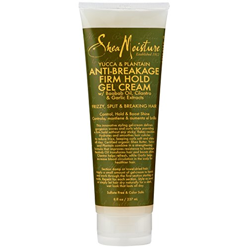 Shea Moisture Yucca & Plantain Strong-Hold Gel, 8 Ounce