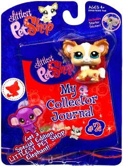 Littlest Pet Shop Activity Set My Collector Journal with Chihuahua