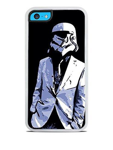 Traje blanco y corbata Stormtrooper arte blanco carcasa de ...