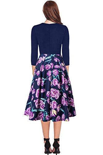 Review Women Vintage Work Dress