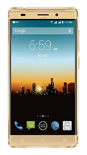 """POSH MOBILE ULTRA MAX 4G LTE ANDROID GSM UNLOCKED DUAL SIM 5.5"""" HD SMARTPHONE, PLUS-sized HD display, 8MP Camera and 16GB of Storage. 1 Year warranty. (L550 GOLD)"""