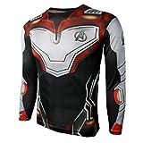 Best Compression Shirts For Men - Superhero Cosplay Shirt Compression Sports Shirt Mens Fitness Review