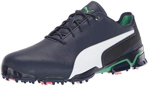PUMA Golf Men's Ignite PROADAPT X Golf Shoe, Peacoat White