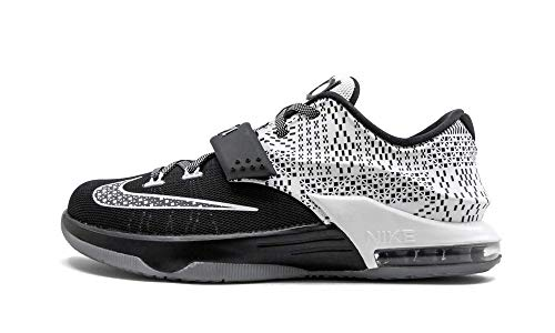 Nike Boy's Kevin Durant KD 7 VII BHM GS Black History Month Grade School Basketball Shoes (Size: 6.5Y)