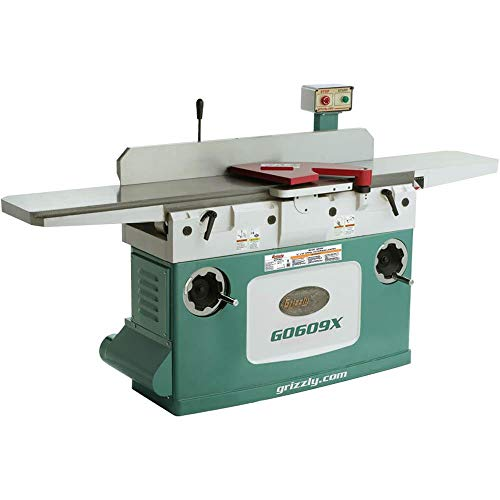 Grizzly G0609X Jointer with Spiral