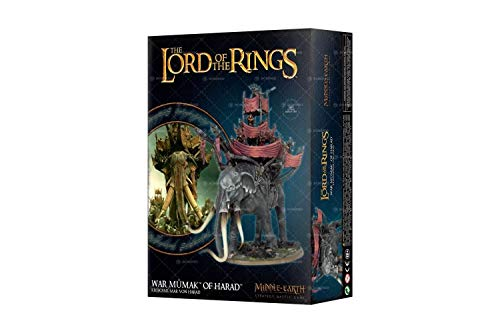 War Mumak of Harad Lord of The Rings from Games Workshop