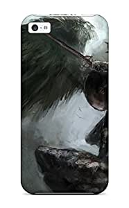 Andrew Cardin's Shop Best 6499522K41336607 New Arrival Angel Warrior For Iphone 5c Case Cover