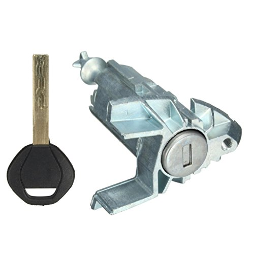 (Dolity Car Door Barrel Lock Key Cylinder with Key for BMW X5 E53 2000-2006)