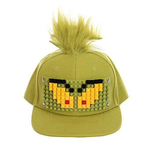 BRICKY BLOCKS Dr. Seuss Grinch Hat for Kids and Adults by Elope