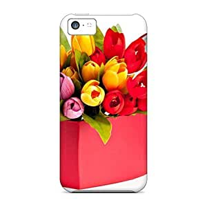 For Iphone 6 plus (5.5) (tulips Bouquet) PC mobile Skin Cases Covers For Iphone case yueya's case