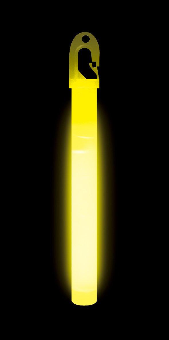 Lumica Leuchtstab, NATO-geprü ft, 15,2 cm, Gelb, 10 Stü ck Survival School