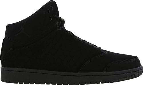 Nike Júnior Jordan 1 Vuelo 5 Prem BG Cuero Negro Zapatillas Baloncesto 881440 010: Amazon.es: Zapatos y complementos