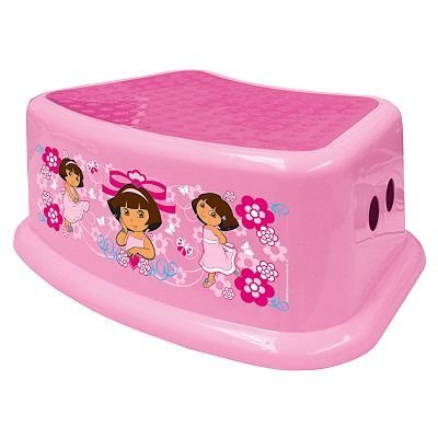 Dora the Explorer Step Stool by Ginsey baby gift idea by Dora the Explorer Step Stool by Ginsey baby gift idea