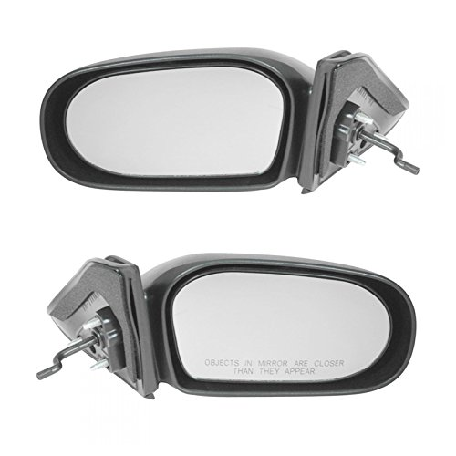 Manual Remote Side View Door Mirrors Pair Set of 2 for 95-99 Toyota Tercel