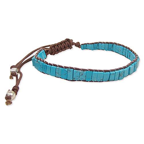Turquoise Bracelet en perles apporte-Taille Unique-100% hypoallergénique
