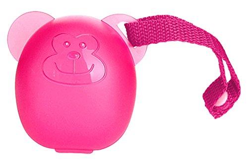 DIAGO Schnullerbox Schnulleraufbewahrung, pink Euret 3000 GmbH 30079.74983