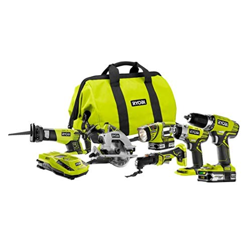 Reconditioned Power Tools - Ryobi ZRP884 18V One Plus Lithium-Ion Ultimate Combo Kit (Certified Refurbished)