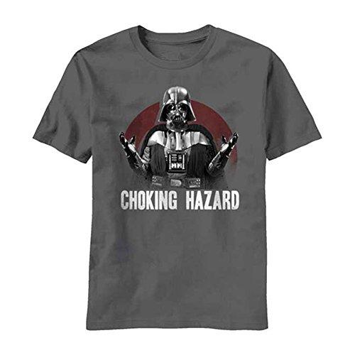 Mad Engine Men's Star Wars Choking Hazard T-shirt, (Choking Hazard T-shirt)