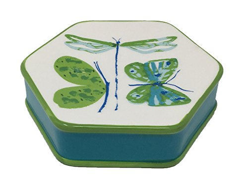 Tropic Butterfly Ceramic Soap Dish