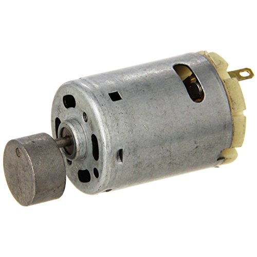 8000RPM Mini Vibration Motor – SODIAL(R)1.1inch Dia Mini Vibration Vibrating Electric Motor DC 12-24V 8000RPM Gray