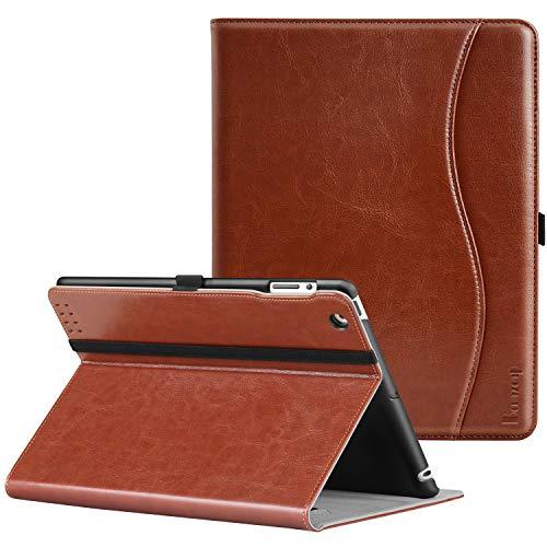 Ztotop Case for iPad 2/3/4 - Premium PU Leather Business Slim Folding Stand Folio Cover with Auto Wake/Sleep for iPad 4th Generation with Retina Display, iPad 3, iPad 2,Brown (Amazon Ipad 4th Generation)