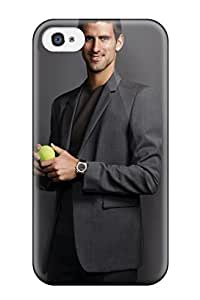 Snap-on Case Designed For Iphone 4/4s- Novak Djokovic Pictures
