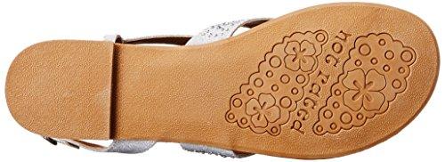 Not Rated Women's Brentwood Dress Sandal Silver 7k78V