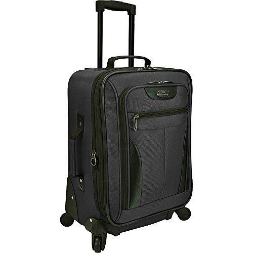U.S. Traveler Charleville 20 Inch Spinner Luggage (Black)