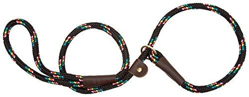 Mendota Products Slip Lead,  1/2 X 6, Black Confetti, Dogs