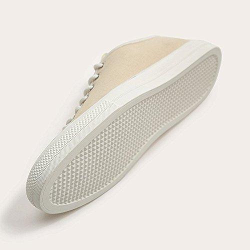 LIUXUEPING Beige Maschi Moda Scarpe Uomo Traspirante Scarpe Casual Tela Scarpe Scarpe di Scarpe Marea da da Estate rrnaRB