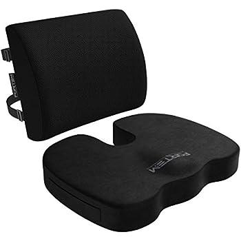 Amazon.com: Cojín lumbar para silla de oficina, silla de ...