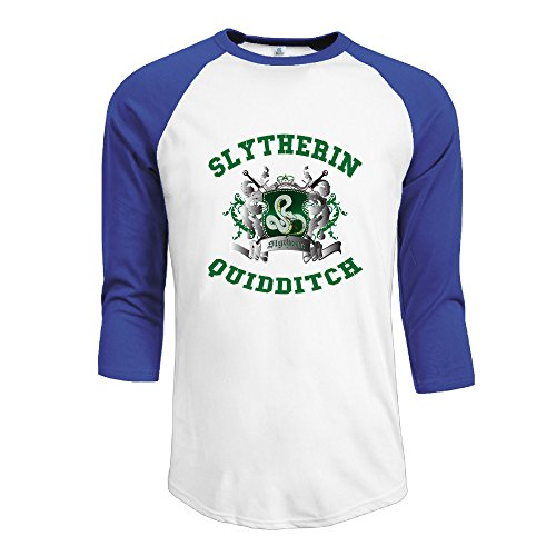 Z-Jane Slytherin Quidditch 5 - Harry Potter Women Custom Raglan T-shirt Size - Robe Diy Harry Potter