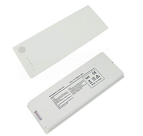 2006 Series Replacement Laptop - ELECBRAiN 10.8V 5600mAh Laptop Battery Replacement for A1185 A1181 MacBook 13