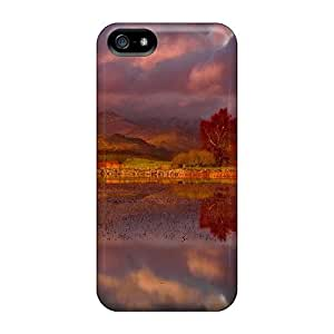 Durable Evening Reflection Back Case/cover For Iphone 5/5s